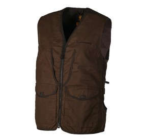 VESTE FIELD MARRON