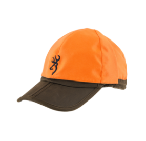 CASQUETTE BIFACE MARRON ORANGE