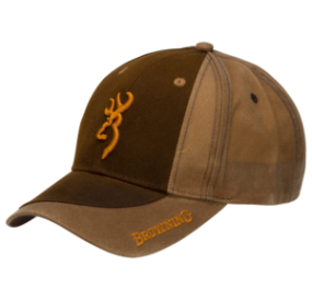 CASQUETTE TWO TONE DARK MARRON