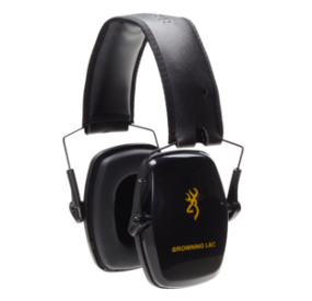 HEARING PROTECTOR  MARRONING L&C PASSIVE NOIR