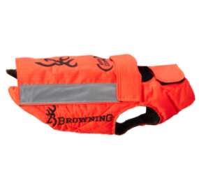 VESTE DE PROTECTION CHIEN HUNTER ORANGE
