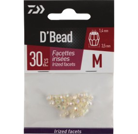 PERLE A FACETTES IRISEE 3,5 MM