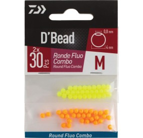 KIT PERLE RONDE FLUO 4 MM