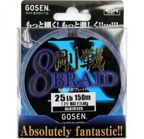 Gosen X 8 - 150m - 1.2PE 25lbs