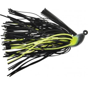 JIG CORE HEAD 1/2 - 01 BLACK/CHARTREUSE