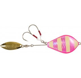 JIG DROP 180 06 G PINK GLOW STRIPE