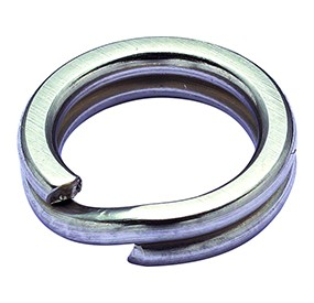 SPLIT RING MEDIUM 6 SILV 75lb
