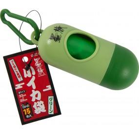 Q-32 GREEN SUMIZOKU KOIKA BUKURO (distributeur de sacs pour mettre le squid + sac)