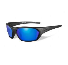 LUNETTES IGNITE POL. BLUE MIRROR-GREEN/ MATTE BLACK