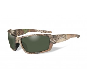 LUNETTES REBEL POL. SMOKE GREEN REELTREE XTRA CAMO FRAME
