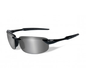 LUNETTES TOBI POL. SILVER FLASH -SMOKE GREY BLACK FRAME