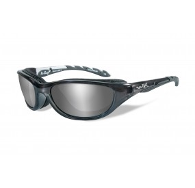 LUNETTES AIRRAGE POL. SILVER FLASH-SMOKE GREY / CRYSTAL METALLIC