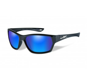 LUNETTES MOXY POL.BLUE MIRROR-GREEN/GLOSS BLACK