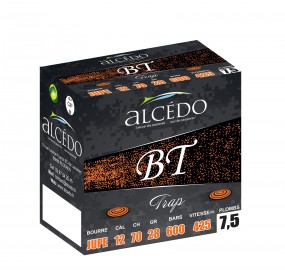 BOITE 25 CARTOUCHES TRAP ALCEDO BT28